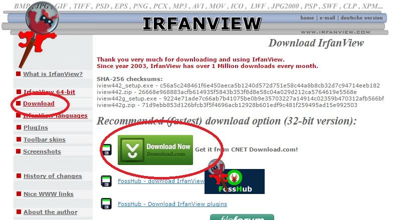 Képnézegető program – IrfanView letöltése