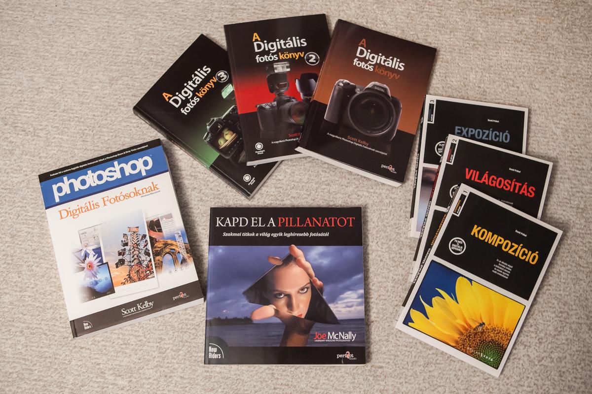 Fotózás – Digitális fotózás könyvtippek