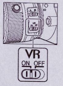 Nikon VR jelentése – rázkódáscsökkentés